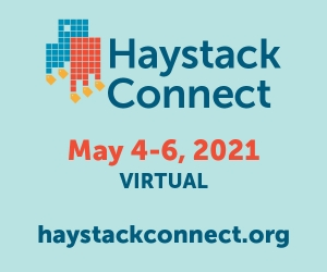 Haystack Connect 2021 Agenda Takes Shape