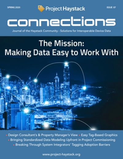 Project Haystack Connections Magazine Spring 2020 Is Now Available!