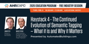AHR Expo 2020 - Haystack 4 - Free Education Session