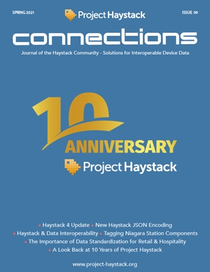 Announcing: 9th Issue of Project Haystack Connections Magazine and Four New Associate Members!