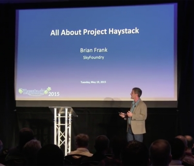 Brian Frank Explains How Haystack Works